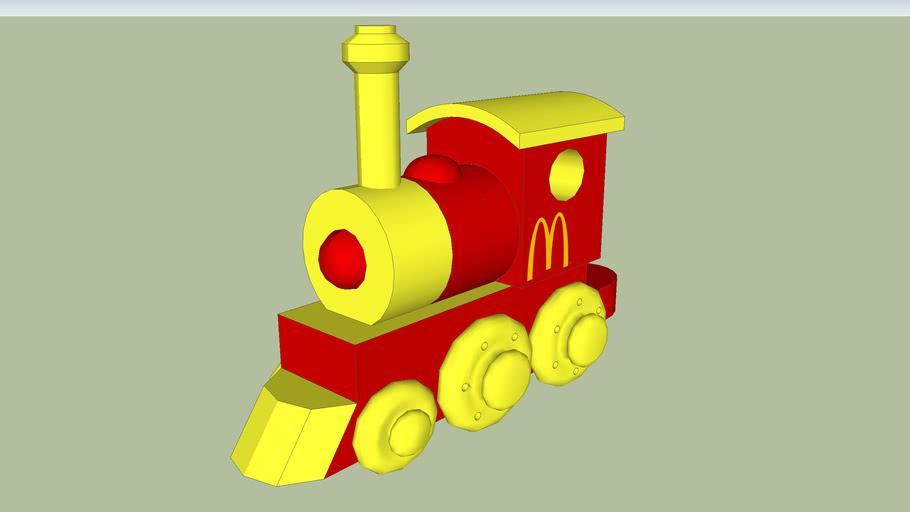 Mc Donald Wooden Toy Train