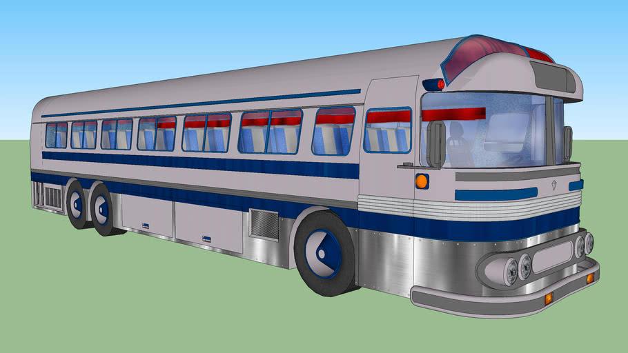 American vintage bus 6 (the oldies walks)