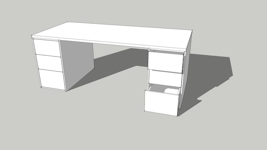 책상, 서재, table square