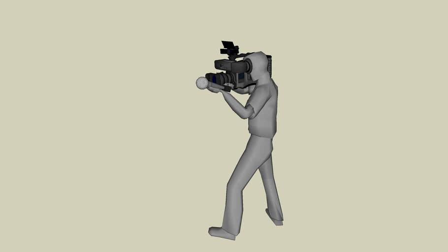Cameraman/ reporter