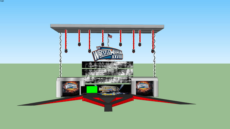 WrestleMania 28 Design Concept