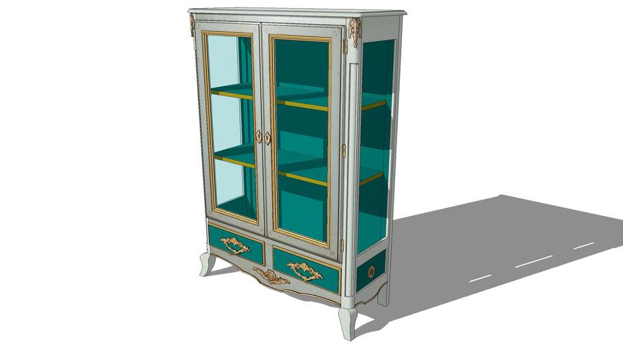 ELYSEE GLASS DISPLAY CABINET, REF R268, Michel FERRAND