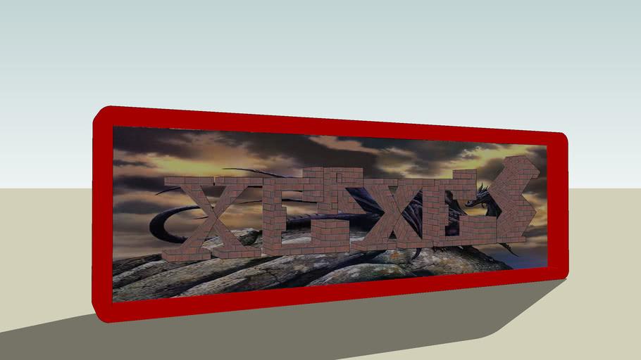 Xerxes nametag