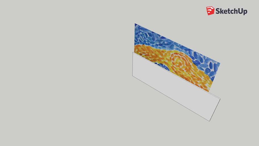 parede impressionismo