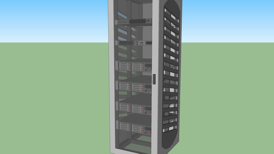 Server Rack SR1 with components