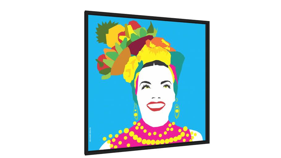 Quadro Carmen Miranda - Galeria9, por alexsandro almeida