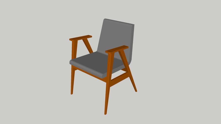 Cadeira compasso com braço_Sérgio Fahrer_Casapronta