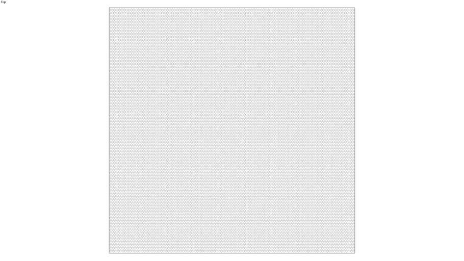 ROCKIT3D | Mesh Hexagon RAL9016