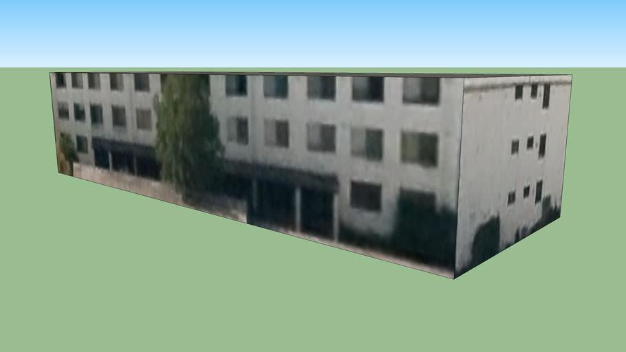 Lygon flats in Melbourne VIC, Australia