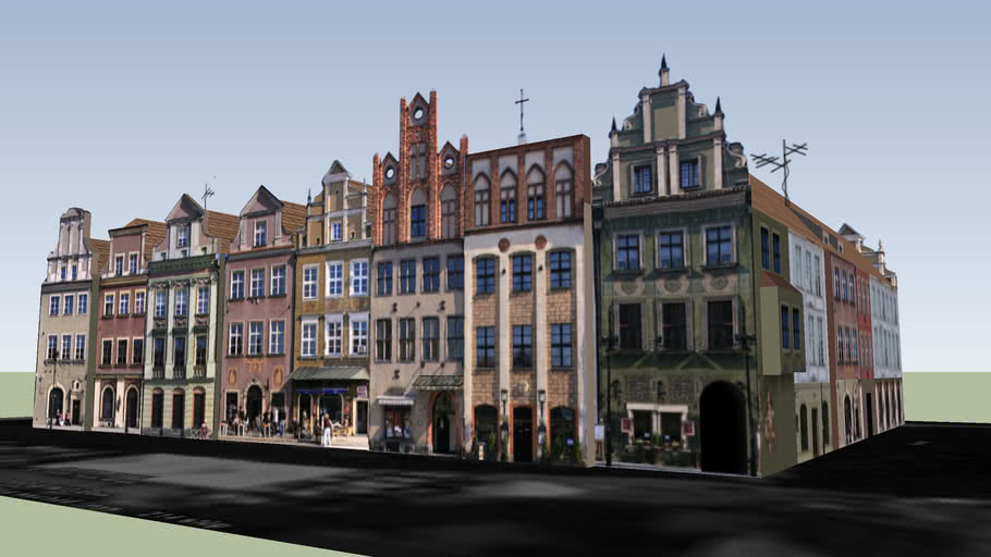 Poznań, Kamienice nr45-52