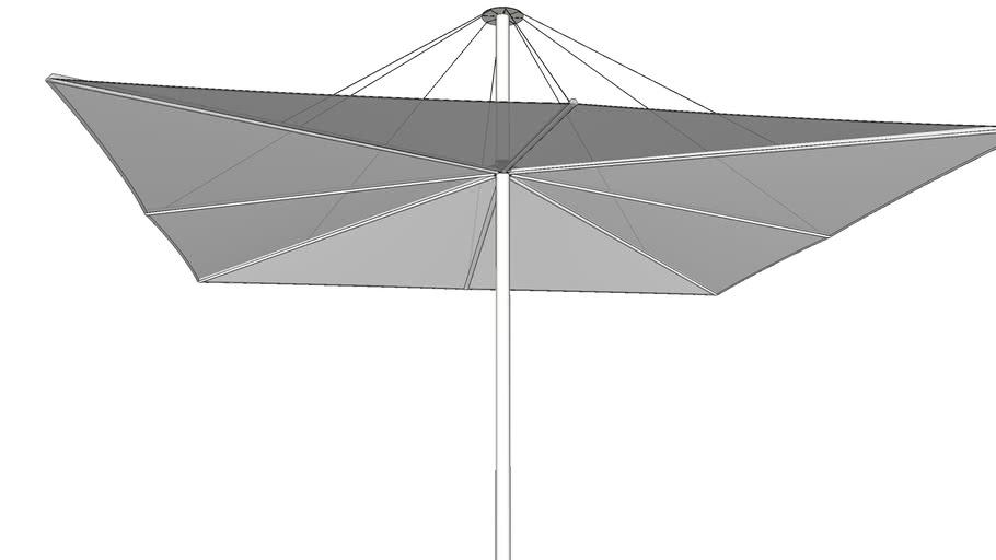 Solis 400 cm x 400 cm - Sywawa Design Parasols