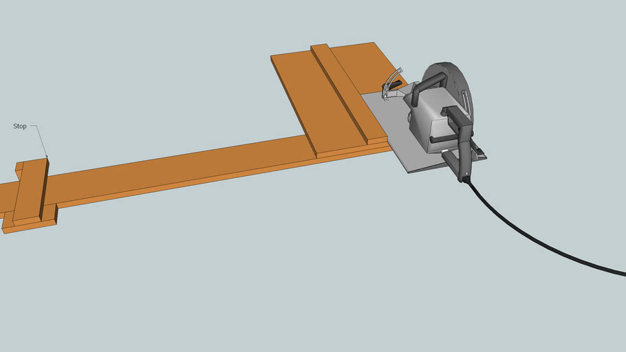Circular Saw Jig for Repeatable Cuts