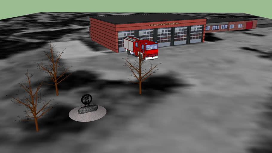 Gerätehaus Feuerwehr Nortrup