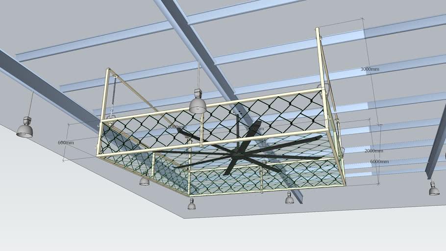 cover ceiling fan update