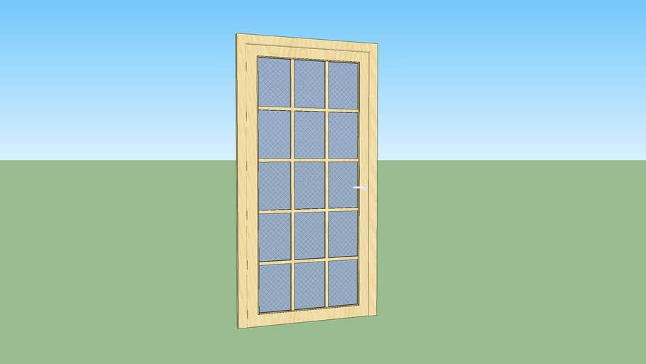 Wooden Door Interior LP3