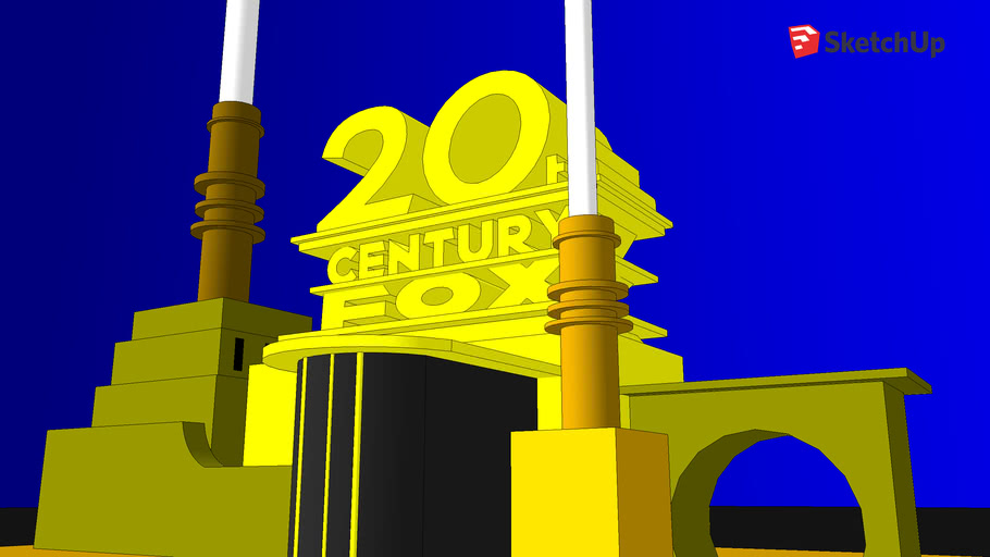 20th century fox logo [1935-1994] rare remake