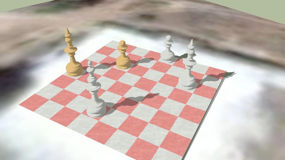 Шахматная доска, Ekibastuz