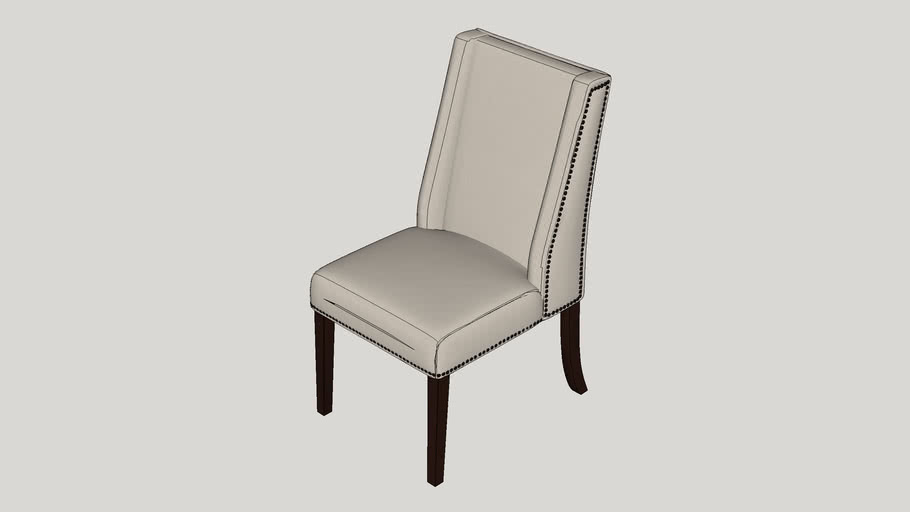 Chicago Wingback Parsons Chair
