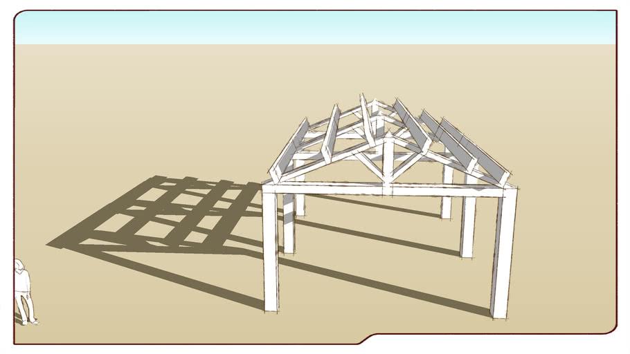 ossature hangar