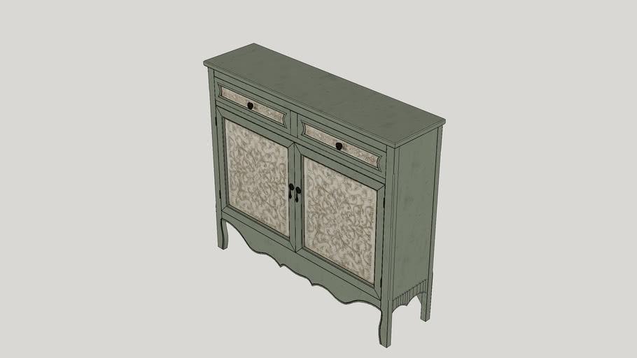 Mae Tehya Antique 2 Door Cabinet