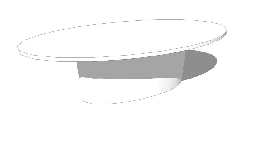 Mesa Jantar PIXEL Oval 2400 x 1200