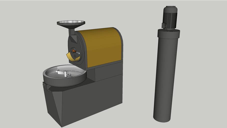 Probat P-series P12 III . Coffee Roaster. Shop Roaster.