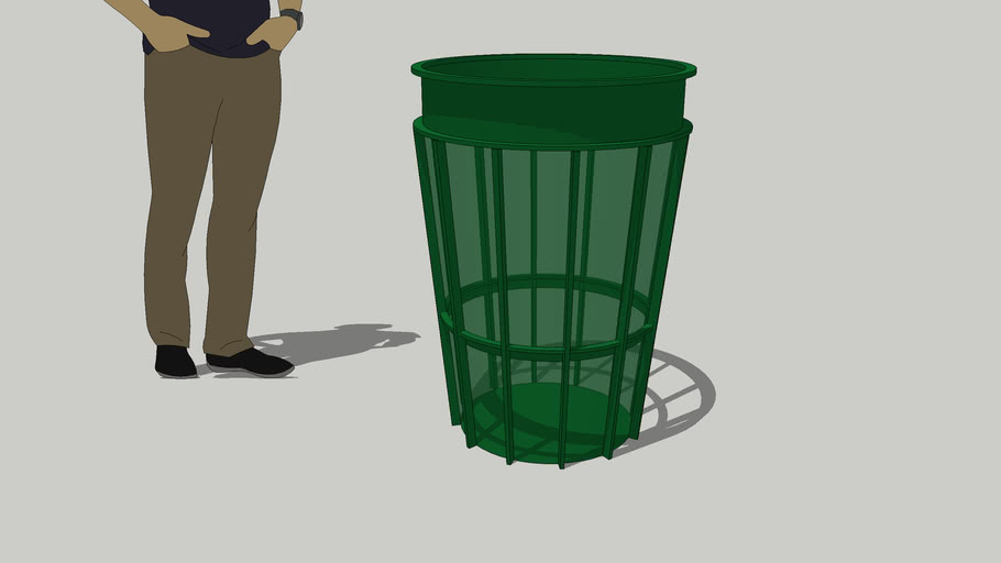 New York Trash Bin
