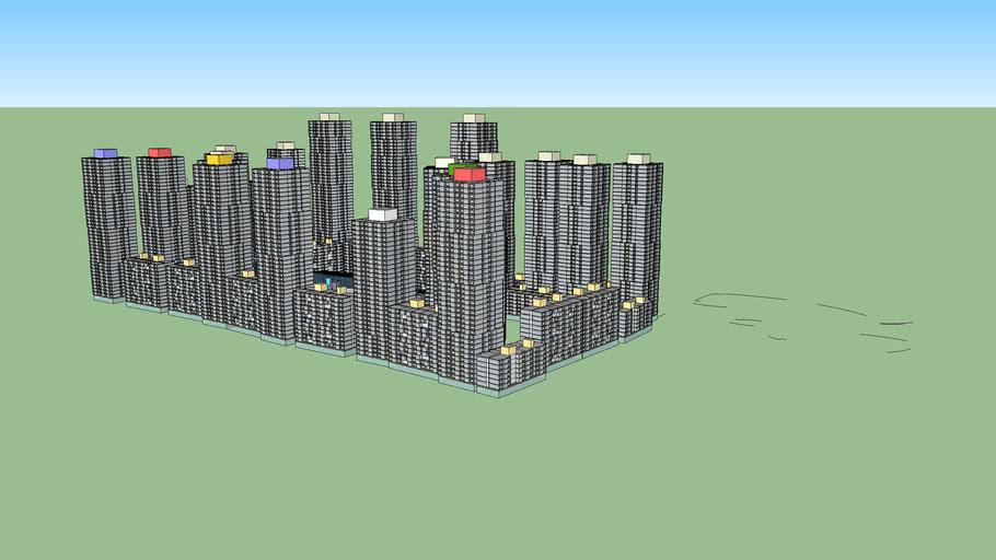 Googleplex with 10,000 apartments