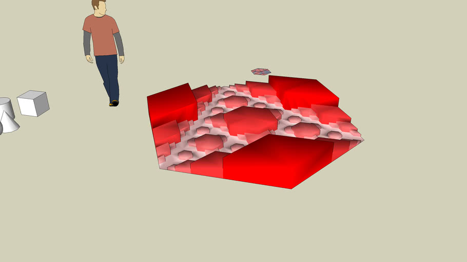 Fractal landscape idea