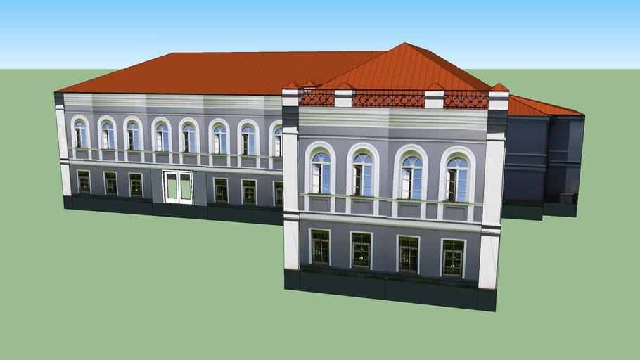 Здание рядом с Администрацией