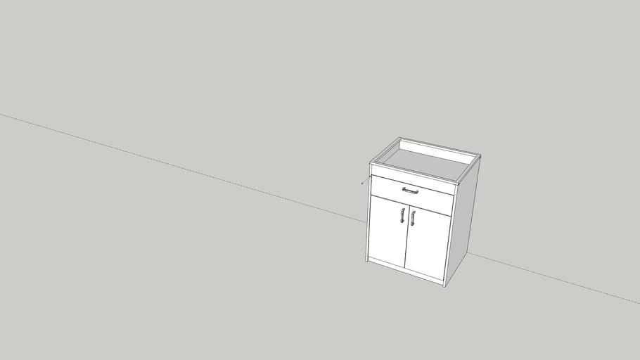 Mueble Encimera simple