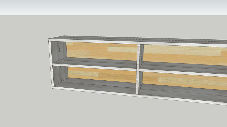 boekenkast steigerhout