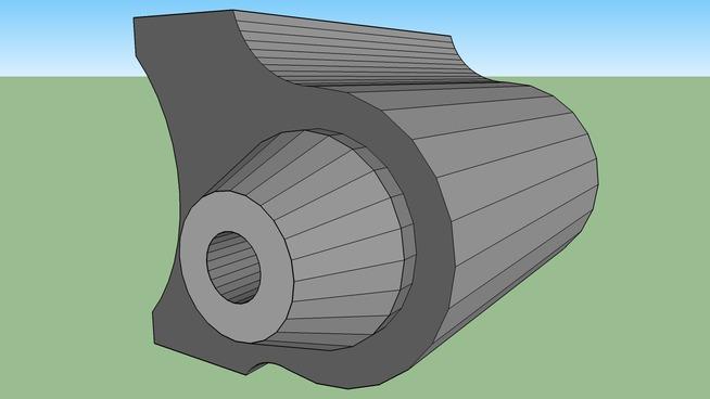 simple compact SOPMOD laser sight