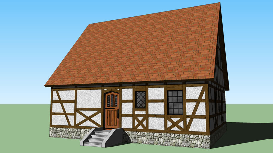 Half Timbered Cottage