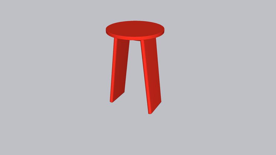 Tau L_Stool_Parsons Red
