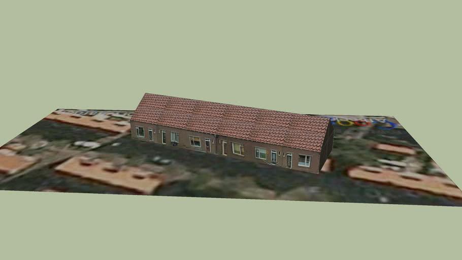 Huizen aan de Zuiderzeestraat, Lemmer