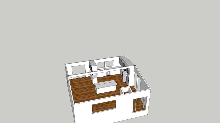 !st Draft new kitchen