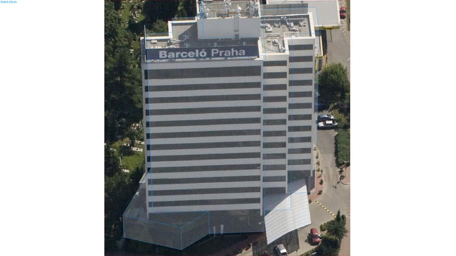 Edificio in Praga, Repubblica Ceca