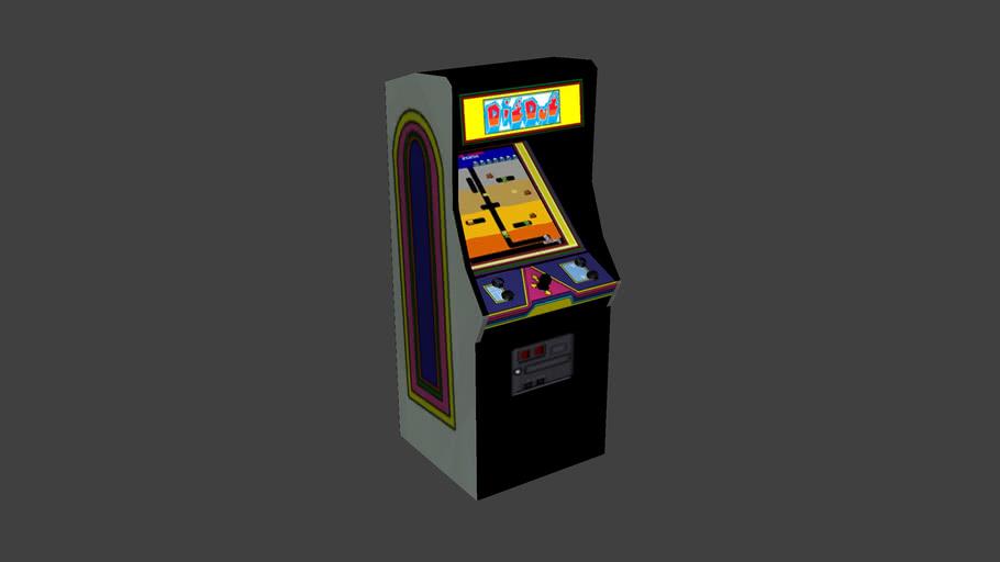 Dig Dug - Arcade Game Cabinet (1982)