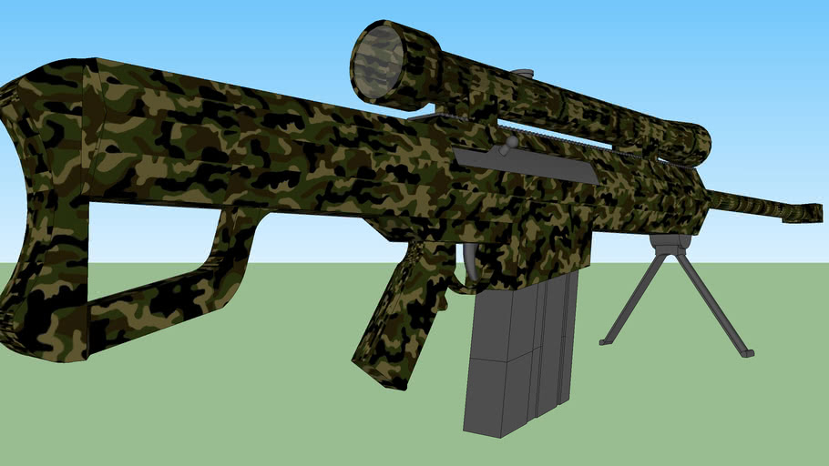 0.5 cal sniper rifle