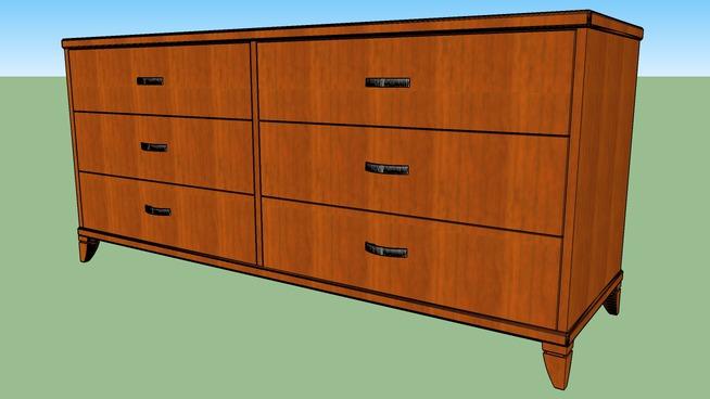 Dresser (3 drawer, 6 drawer)