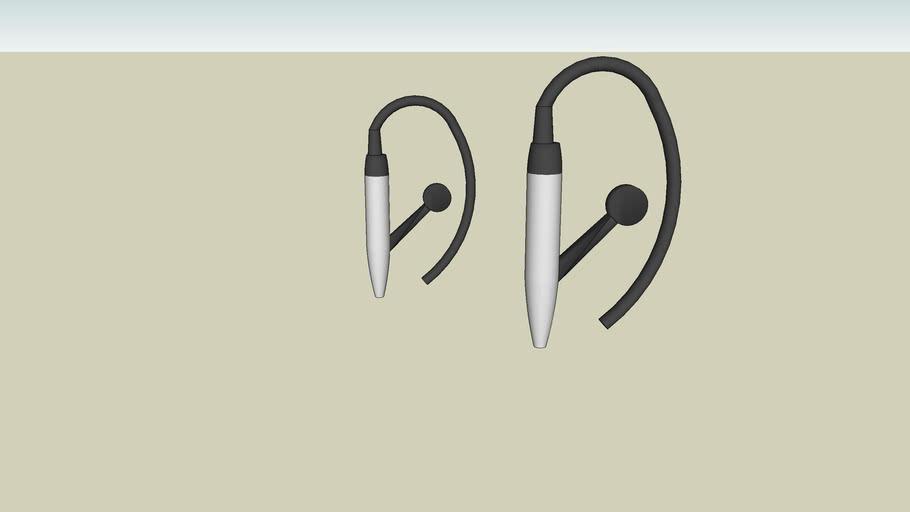 my wireless clip on head phones