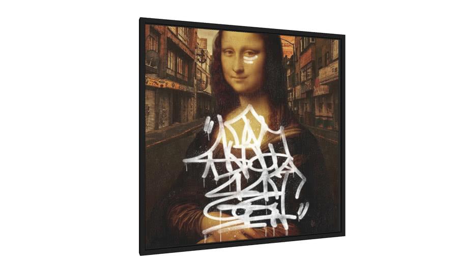 Quadro Mona Lisa Street - Galeria9, por Renato Kolberg