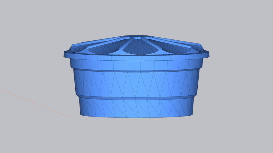 caixa d'água 1500L