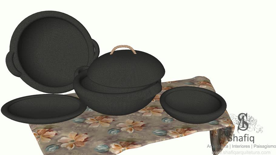 陶鍋 pottery soup pot 鍋子 pot