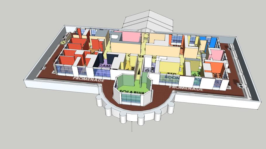 White house fourth floor   3D Warehouse