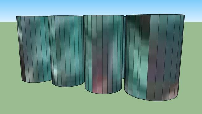 Building(barrels) in Pietersburg, South Africa
