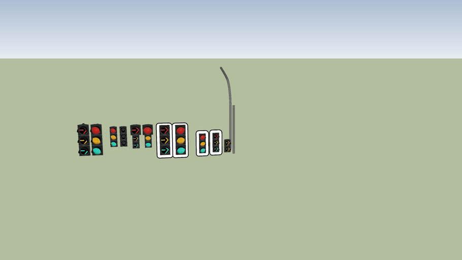 Traffic lights Led