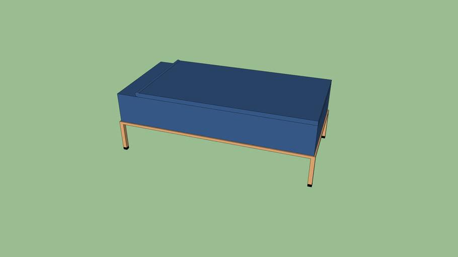 PSU Blue Bed
