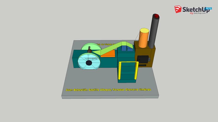 Máquina de Vapor James Watt